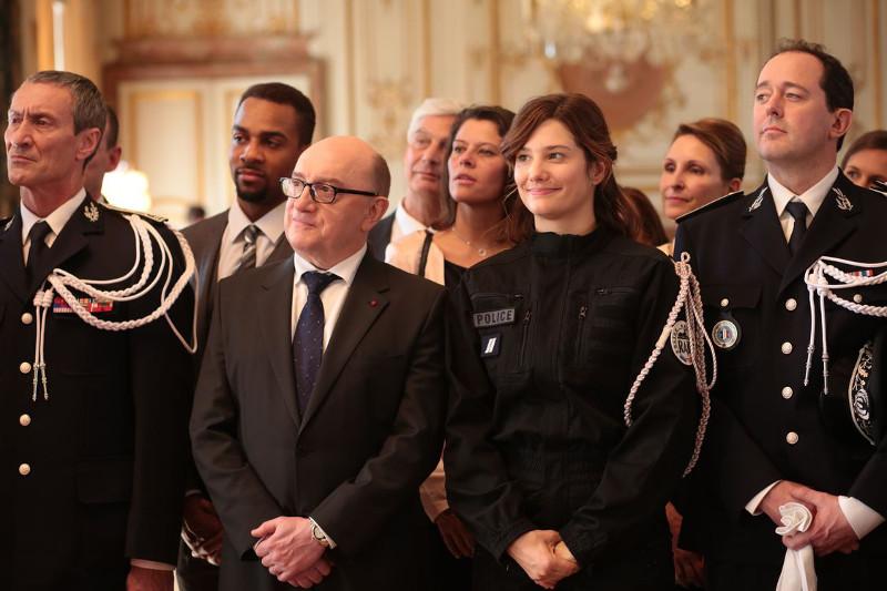 Johanna Pasquali (Alice Pol) ist Polizistin aus Leidenschaft. (© Ascot Elite)