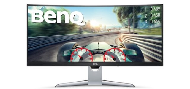 BenQ EX3501R: Curved Display für maximales Entertainment