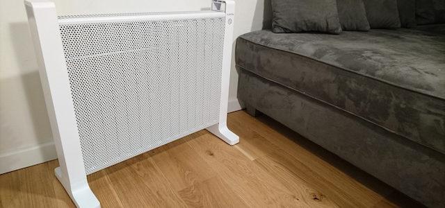Klarstein HeatPal Mica 15: flexible Heizlösung für Hobbykeller, Heimkino und Bad