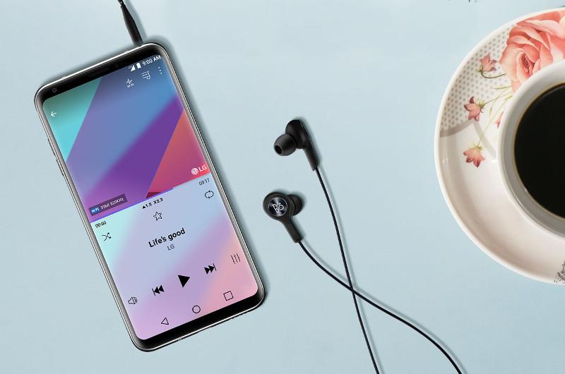 Das LG V30 ist ein Top-Smartphone mit besonderen Entertainment-Qualitäten.
