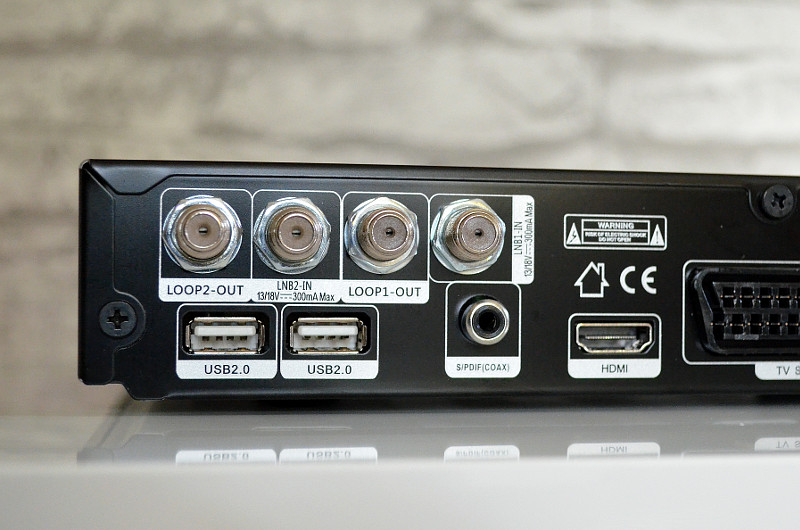 Doppelt hält besser: Der Trinity Twin verfügt über zwei Empfangsteile und zwei USB-Schnittstellen.