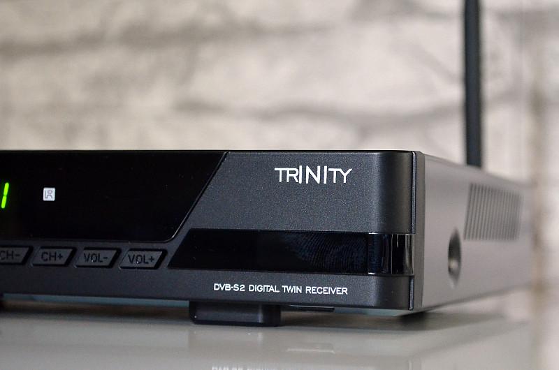 Der Trinity Twin setzt auf Schwarz, kombiniert dabei jedoch matte und hochglänzende Elemente.