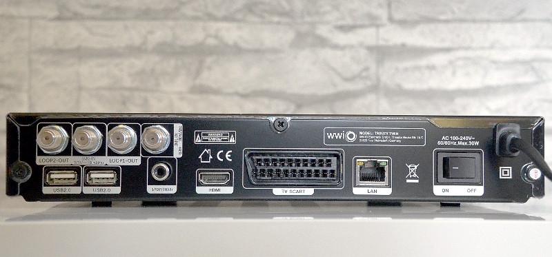Die Art der jeweiligen Empfangsanlage im Gebäude bestimmt die Zahl der zum Anschluss benötigten Kabel.