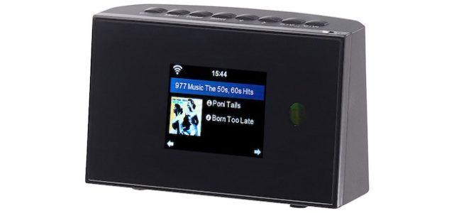 Pearl VR-Radio Digitaler WLAN-HiFi-Tuner mit Internetradio, DAB+, UKW