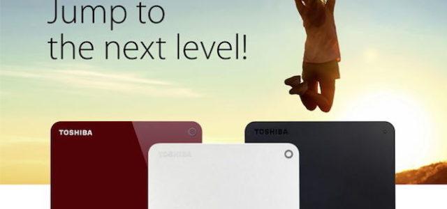 Toshiba präsentiert neueste Evolution seiner portablen CANVIO-Festplatten