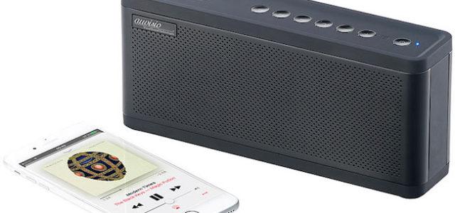 Pearl auvisio Premium 2.1-Lautsprecher mit einem 6.700-mAh-Akku und Bluetooth