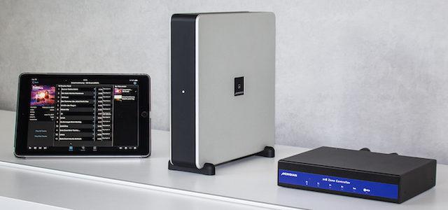 Musikserver Meridian Media Core 200 / 218 Zone Controller – Audiophiler Weg zum modernen Musikhören