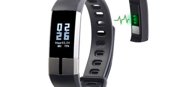 Pearl newgen medicals Fitness-Armband FBT-105 mit Blutdruck-Anzeige