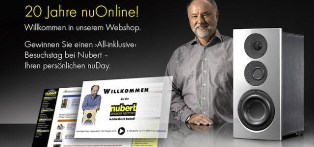 20 Jahre nubert.de, 20 Jahre Klangfaszination online