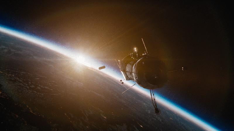 """Der Kontakt zur sowjetischen Raumstation """"Salyut-7"""" bricht plötzlich ab. (© Concorde Home Entertainment)"""