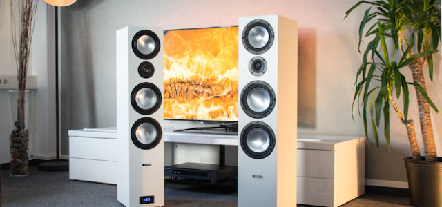 Lautsprecher Canton GLE 496.2 BT Aktiv Set – HiFi-Genuss mit Bluetooth, Heimkino-Spaß in Surround