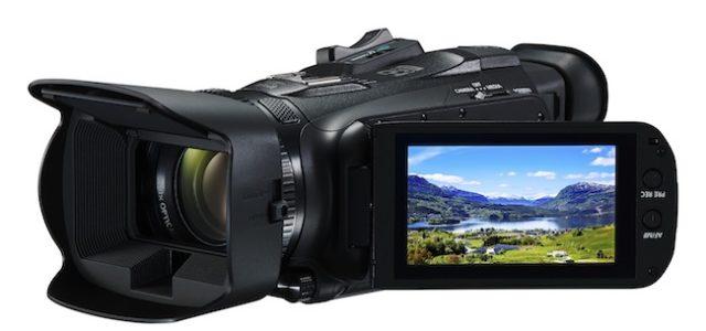 Die neue LEGRIA HF G26 von Canon. Professionell in jeder Hinsicht.