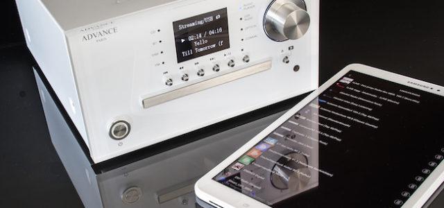 Advance Paris Smart Line UX1 – Streamer und Multimedia-Player für eine stylisch-audiophile Klangkette