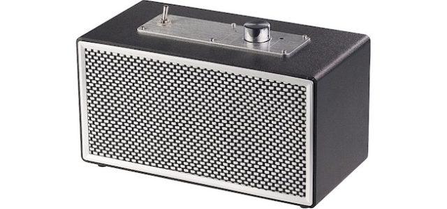 Pearl auvisio Mobiler Retro-Lautsprecher mit Bluetooth 4.1