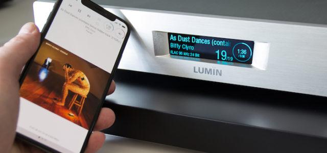 HiRes-Streaming-Amp Lumin M1 – Willkommen in der HiFi-Welt von morgen
