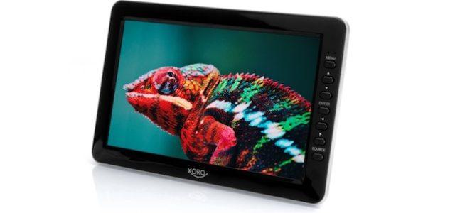 Neuer portabler 10 Zoll Fernseher PTL 1012 von XORO