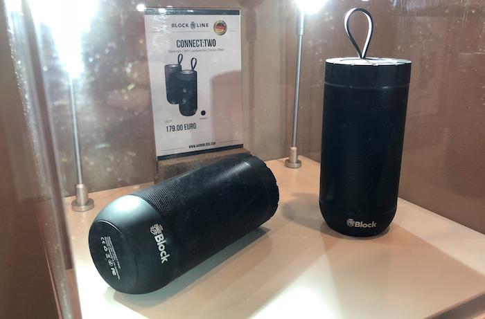 Auch schonmal bei uns zu Gast: das Bluetooth Destop- und Mobile-Duo Connect:Two. Preis: 179 Euro/Set.