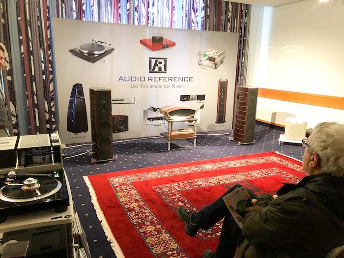 Ebenfalls in der Vorführung bei Audio Reference: die Sonus faber Amati Tradition. Ein Traumlautsprecher. Traumhaft verarbeitet, traumhaft gestylt, traumhaft klingend. Preis: ca. 27.000 Euro/Paar.