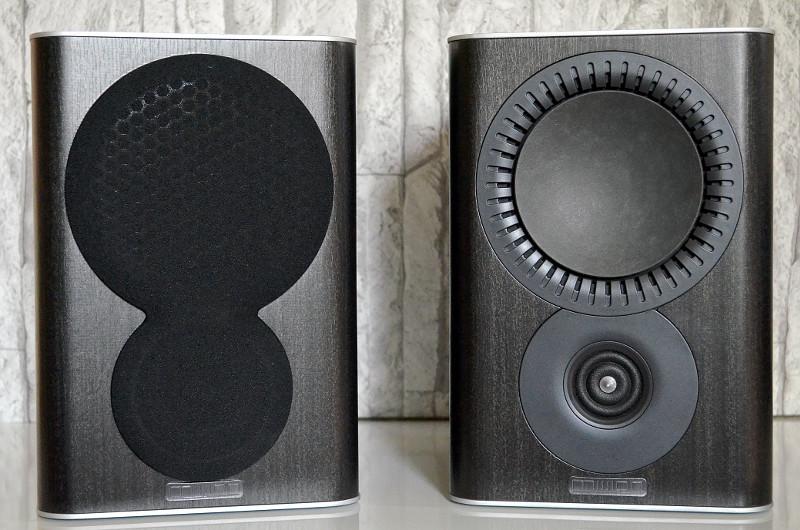Elegant und modern präsentiert sich die kompakte Regalbox QX-1 von Mission.