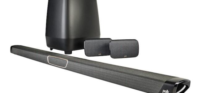 Polk MagniFi MAX SR: Mit Soundbar und kabellosem Sub und Surrounds zum Kinoerlebnis