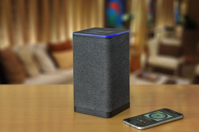 auvisio wlan multiroom stereo lautsprecher qas 400 mit. Black Bedroom Furniture Sets. Home Design Ideas