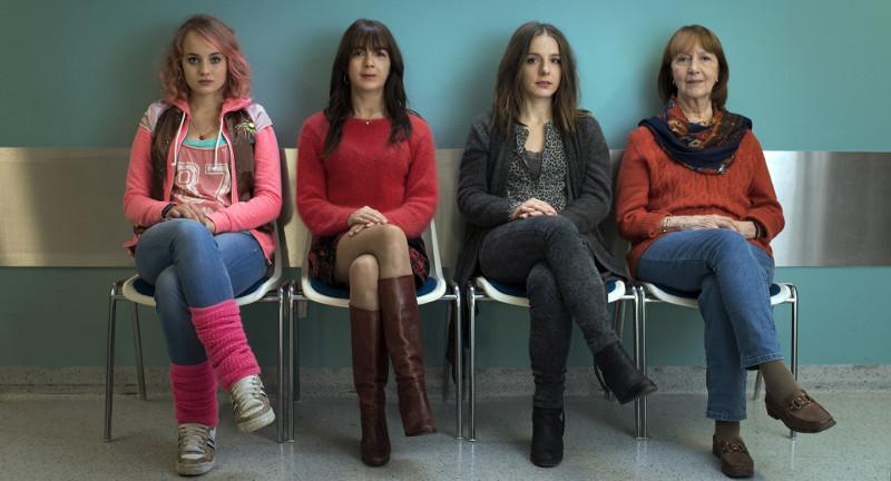 Vier Frauen, drei Generationen, zwei Schwangerschaften, eine Familie. (© Lighthouse Home Entertainment)