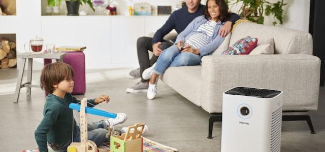 Smart gegen Allergene: Der Philips Luftreiniger sorgt für saubere Luft zuhause