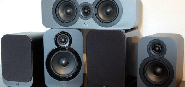 Q Acoustics 3000er-Serie: platzsparendes 5.1-Set für raumgreifenden Sound