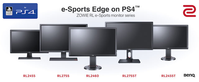ZOWIE RL-Serie: e-Sports-Monitore für PlayStation® 4