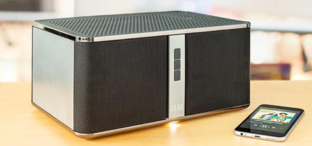 Netzwerklautsprecher Elac Discovery Z3 – Schicke Streaming-Box für wohnungsweiten Wohlklang