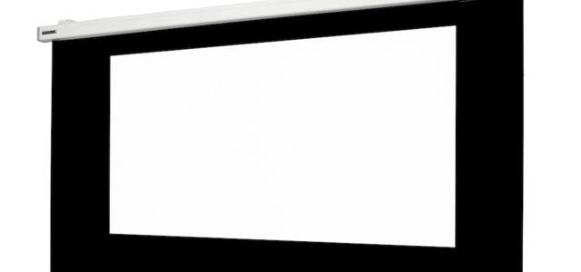 Alphalux Barium Deep Black One – motorische Akustik-Leinwand für den 4K-Einstieg