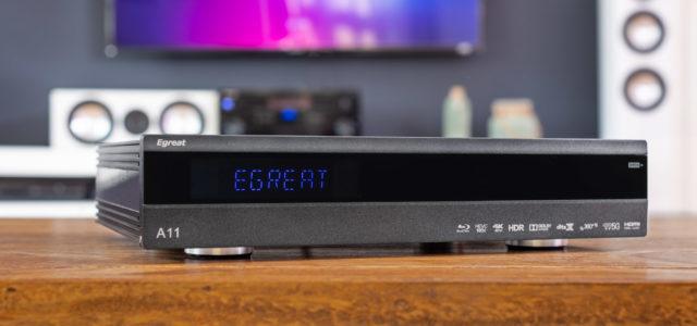 Egreat A11 – Media-Plattform für zu Hause mit 4K- und Blu-ray-Menü-Wiedergabe