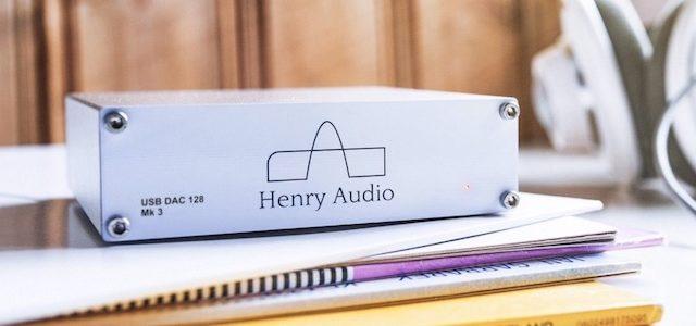Mark 3 Generation des mehrfach ausgezeichneten USB DAC 128 von Henry Audio