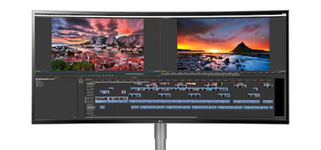 Nano IPS, HDR und bis zu 38 Zoll: LG präsentiert neue UltraWide Monitore