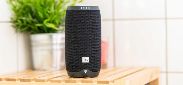 JBL Link 20: Wasserdichter Wireless-Speaker mit Google-Sprachsteuerung