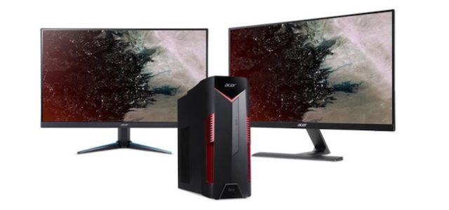 Neue Desktop-PCs und Monitore der Acer Nitro-Serie bieten rasantes Spielerlebnis
