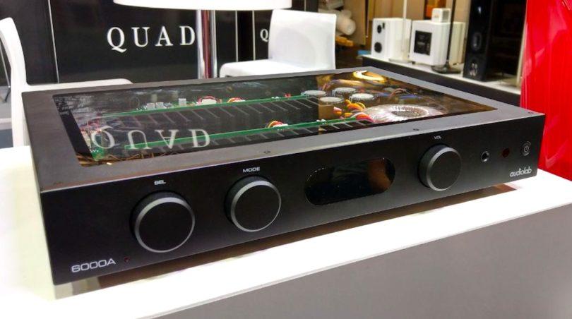 Ebenfalls am IAD-Gemeinschaftsstand zu entdecken: der audiolab Vollverstärker 6000A.