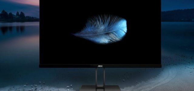 Die neue V2-Serie von AOC: elegante und superschmale Monitore