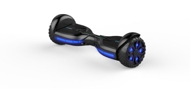 "Wild Thing: ""IO HAWK TWO Rugged LED"" / Neues Offroad-Hoverboard mit coolen Reifen-LEDs"