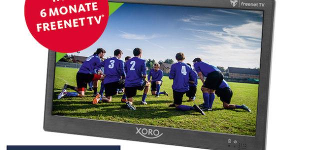 XORO PTL 1050 – Tragbarer Fernseher mit DVB-T2 Tuner für freenet TV