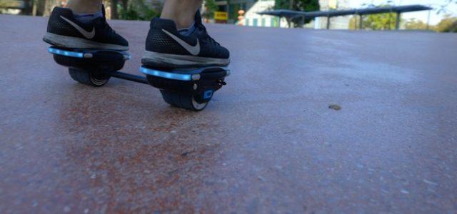 """Aus eins mach zwei: Hoverboard verwandelt sich in Hovershoes – """"IO HAWK NXT Skates"""""""