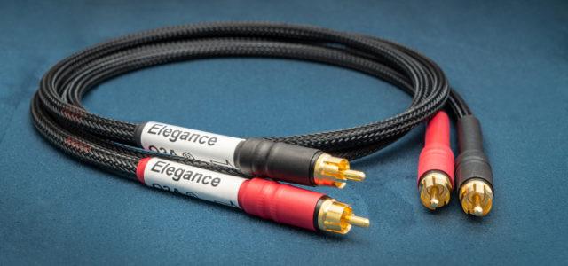 Cinchkabel O2A Elégance RCA – Bote des reinen Musiksignals