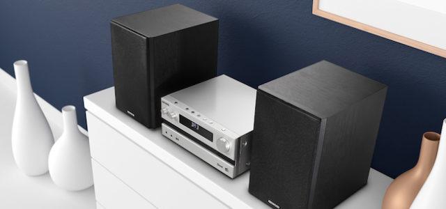 Kenwood präsentiert auf der IFA 2018 das kompakte Stereosystem M-918DAB