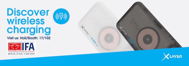XLayer präsentiert neue Powerbanks sowie Ladestationen mit Induktionstechnologie