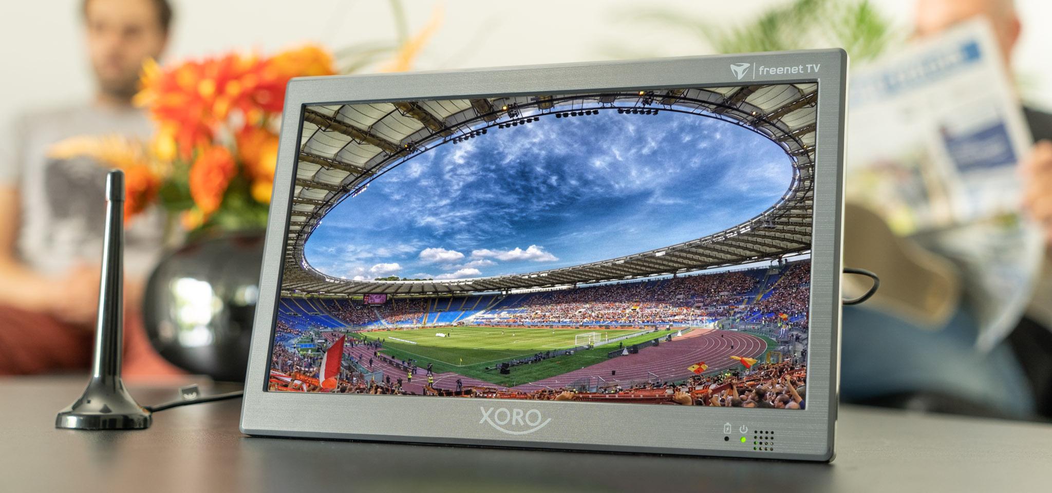 XORO PTL 1050 mit integriertem DVB-T2 HD Tuner und freenet