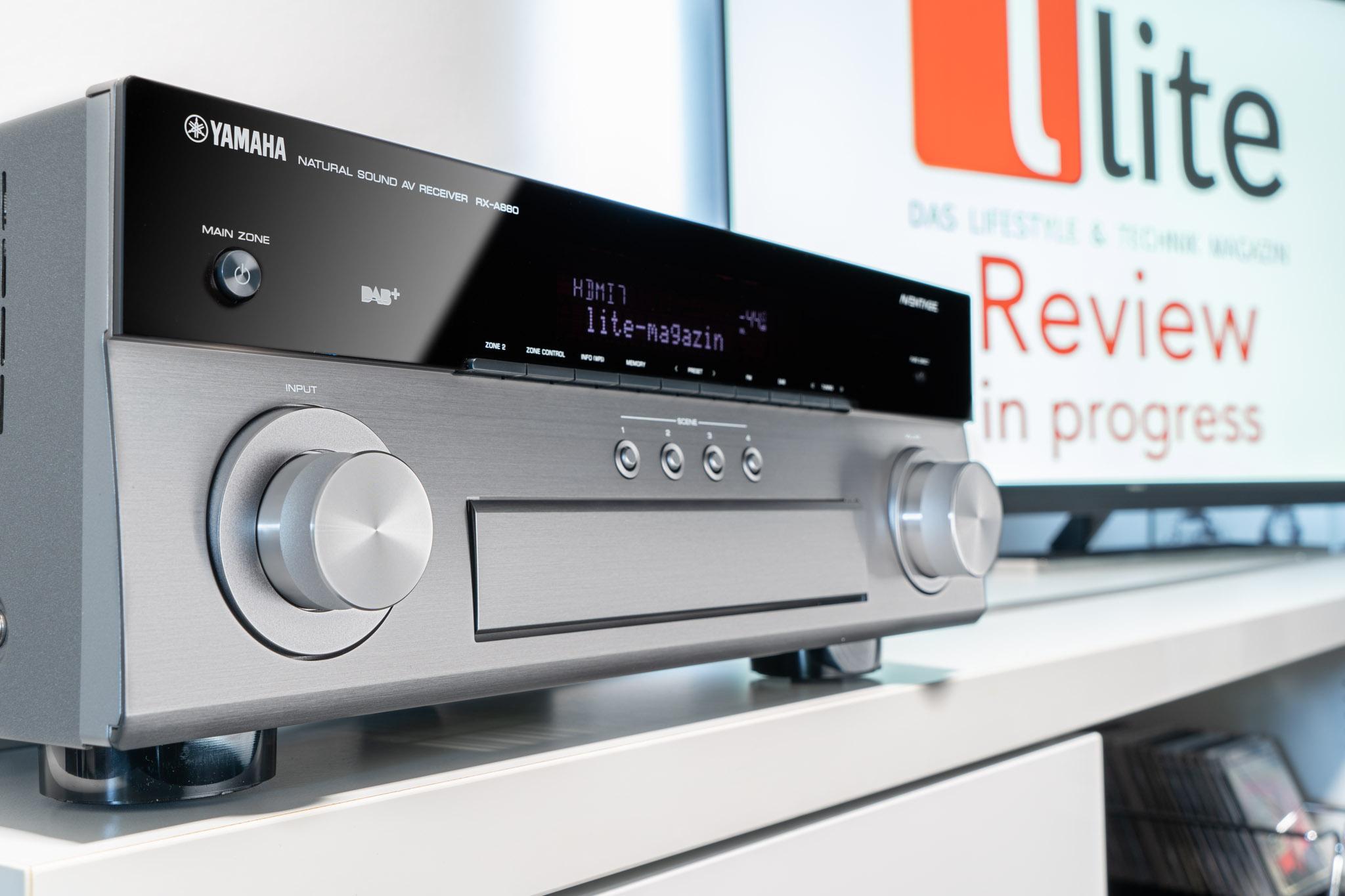 Yamaha Aventage RX-A880 – Heimkino-Profi, Multimedia