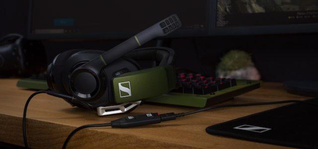 Sennheiser präsentiert das Gaming-Headset GSP 550 mit 7.1 Surround Sound