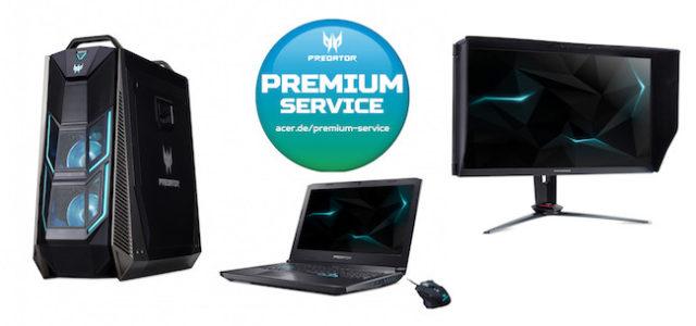 Predator Premium Service: Acer gewährt exklusive Service-Garantie für Predator Hardware