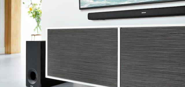 DHT-S316 von Denon: Soundbar im Slim-Design mit kabellosem Subwoofer