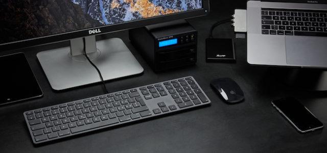 LMP USB Keyboard KB-1243 inklusive Nummernblock, jetzt auch im edlen Grau erhältlich